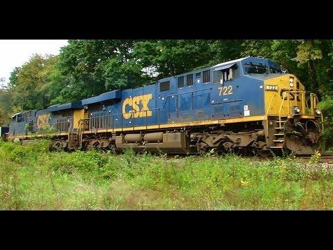 CSX Train L034-02 East Thru Relay, MD