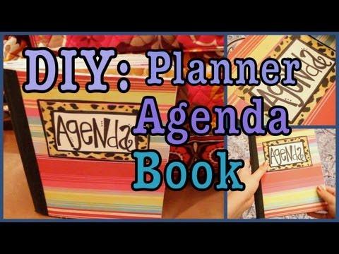 DIY: Planner / Agenda Book!