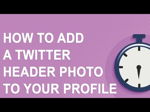How to add a Twitter header photo to your profile