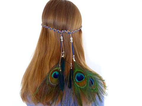 DIY: feather headband