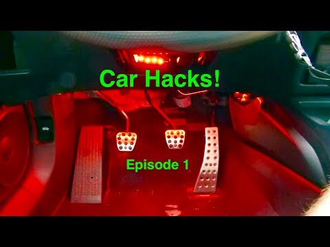 Car Hacks | Start Your Car Without Pushing in the Clutch!