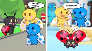 "The Unwanted LadyBug Ep. 2   ""EVIL SISTERS""   Adopt Me Pet POV"