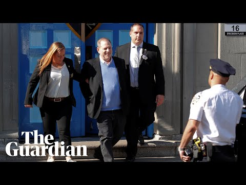 Weinstein surrenders himself on sexual assault charges