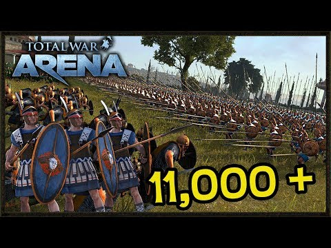 Epic 11,000 Point Battle - Total War: Arena Gameplay