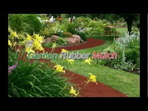 RUBBER MULCH - LANDSCAPING - PLAYGROUNDS - DECORATIVE RUBBER BARK FLAKES