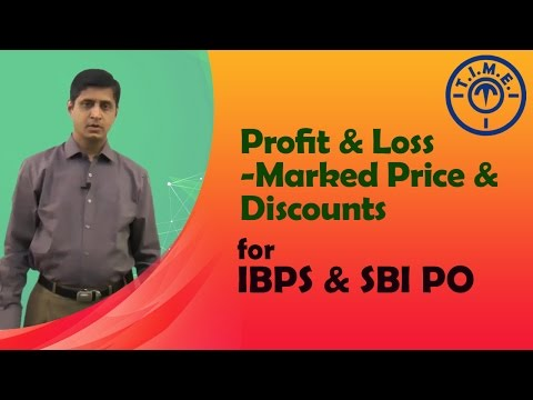 Profit & Loss  Marked Price & Discounts