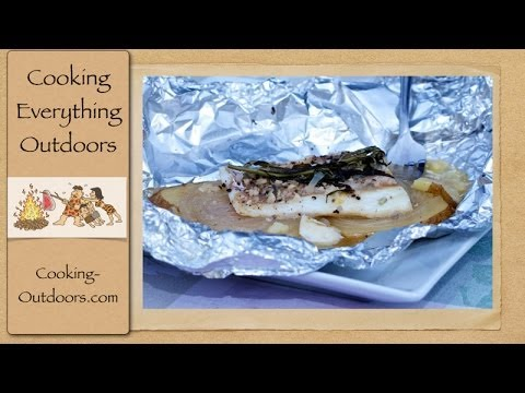 Grilling Fish in Aluminum Foil Packets | Cooking Outdoors | Gary House