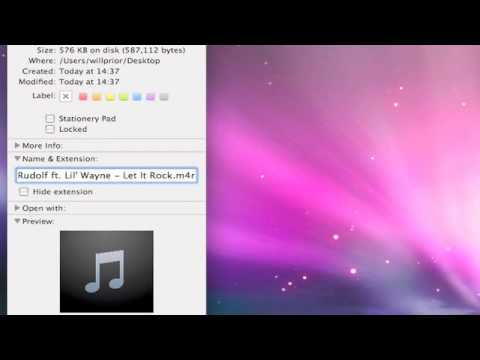 How to make iPhone Ringtones (MAC) tutorial