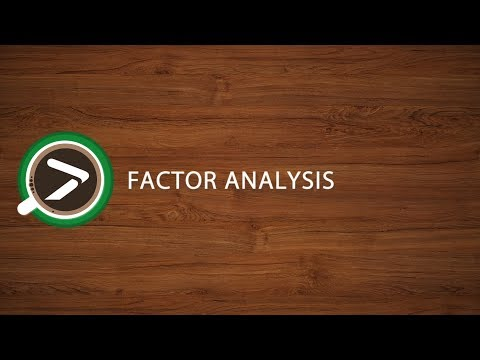 #13 Factor Analysis in Excel with XLSTAT