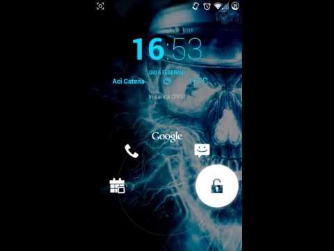 LG dual lockscreen e widget clock - cm11 by tonyp