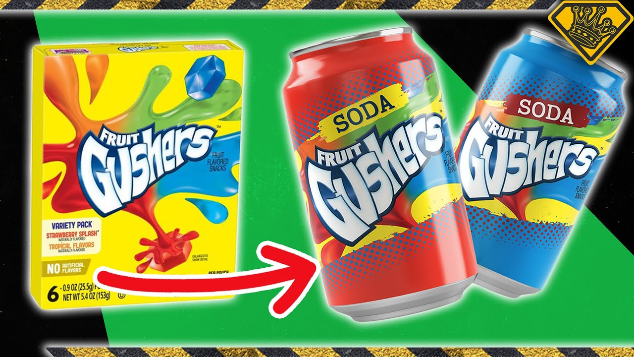 Juicing Gushers to Make CARBONATED Soda!