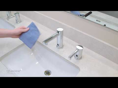 M-Power Below-Deck Sensor Operated Faucet Features and Benefits