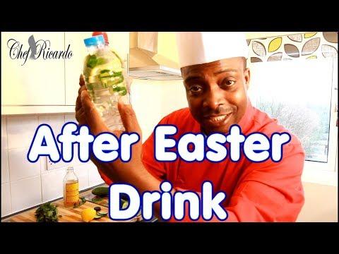 After Easter Detox Your Body With Apple Cider Vinegar Cucumber Lemon Fresh Mint
