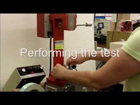 TAPPI T 569 - Scott Bond Paper Test - Internal Bond Strength