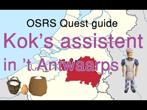 Cook's assistant guide with my Antwerp accent