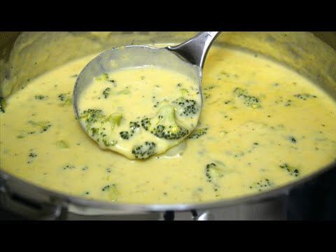 How To Make Broccoli Cheddar Soup - In The Kitchen With Jonny Episode 166