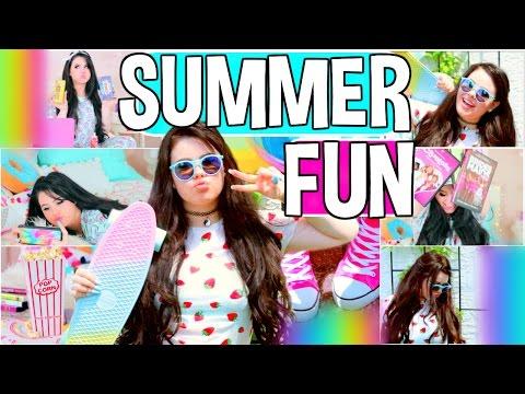 Fun + Cheap Things to do when you're BORED!! DIY Summer Inspiration 2016