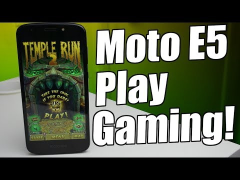 Moto E5 Play Gaming Review