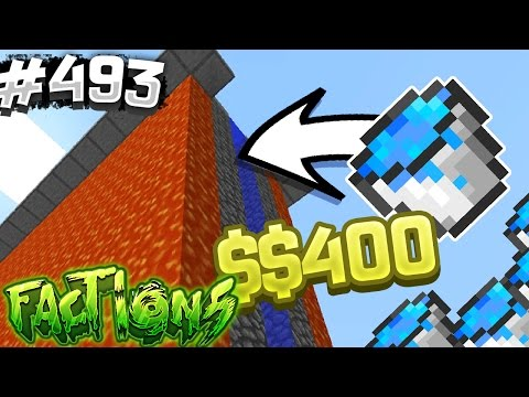 MAKE WALLS WITH JUST ONE WATER BUCKET!? | Minecraft FACTIONS #493