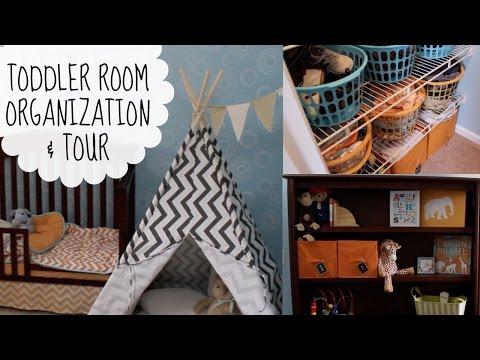 Toddler Room Organization & Tour