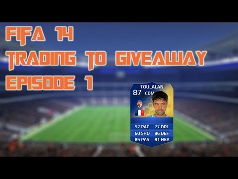 Trading to giveaway FUT 14 #1