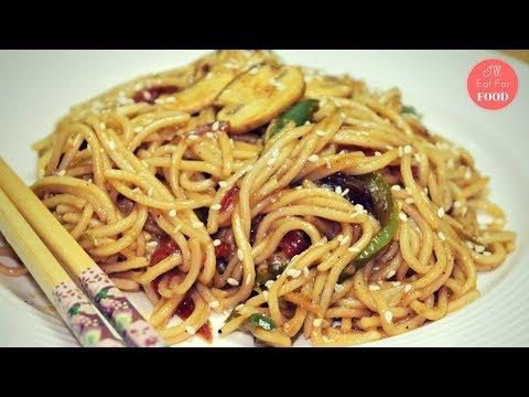 Easy Stir-fry Noodles with Mushroom & Sesame │Episode 072 │ I'll Eat For Food