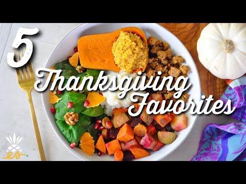 5 Easy Vegan Thanksgiving Recipes | Healthy, Delicious, + Plant-based