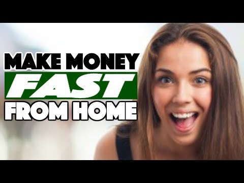 8 Ways to Make Money Fast From Home - How to Make Active Income Online