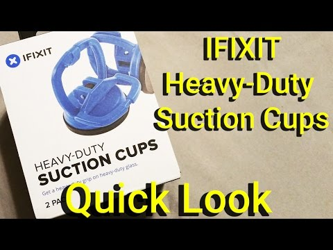 IFIXIT Heavy Duty Suction Cups - Quick Look
