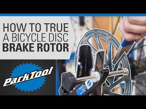 How to True a Bicycle Disc Brake Rotor