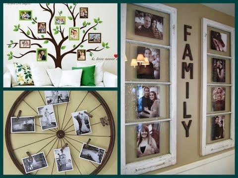 DIY Photo Display Ideas - Creative Photo Wall Decor