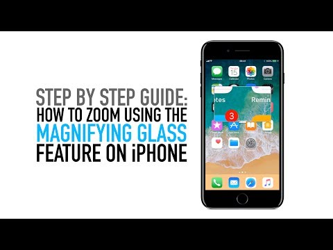 How to magnify and zoom areas of your iPhone screen