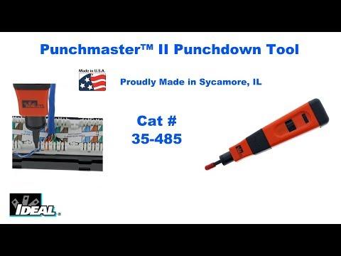 35 485 Punchmaster II Punchdown Tool Short
