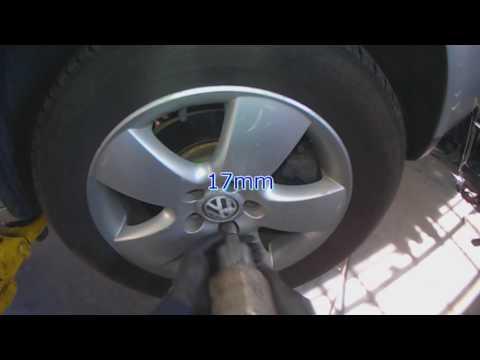 VW A4: 1.9L BEW TDI Timing belt & water pump removal