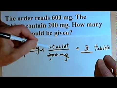 Drug Calculations - basic examples  105