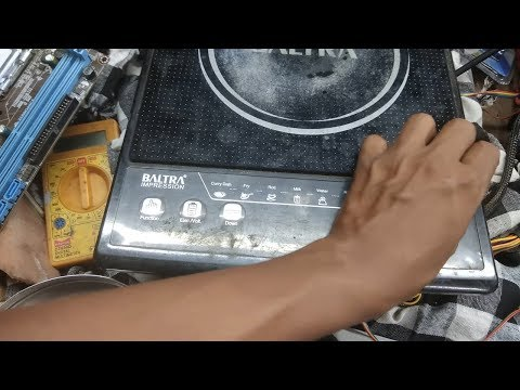 induction cooktop repair in hindi #on/off problem