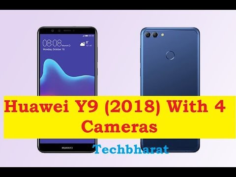 Huawei Y9 (2018) With Four Cameras and 4000 mAh Battery