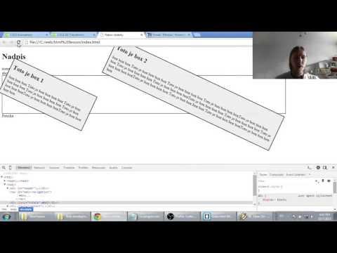 Web developerská škola, časť 49: CSS3 animations, transitions