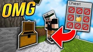 1 CHEST = 1 ITEM CHALLENGE.. | Minecraft SKYWARS (NO WAY!)