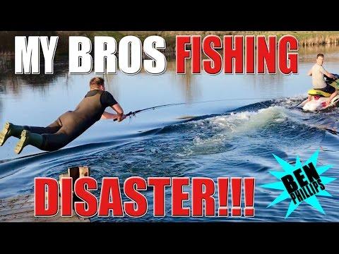 Jet Ski nearly killed my bro! PRANK!