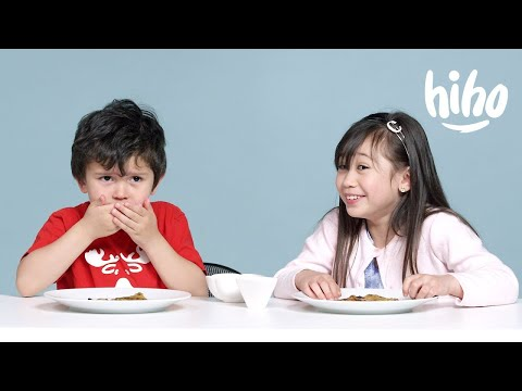 Kids Try Indian Food | Kids Try | HiHo Kids