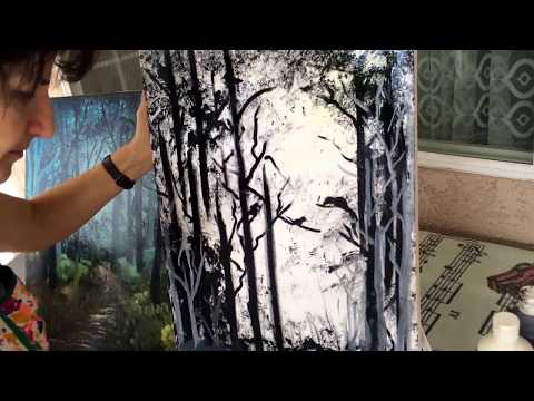 How to Paint a Forest Landscape (3/3)