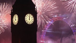 London Fireworks 2016 / 2017 - New Year