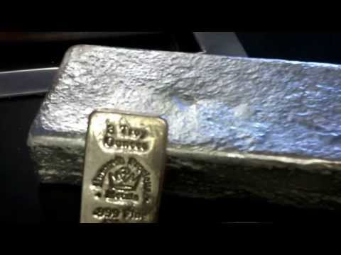 5 pound silver bar at the refiners .999 pure!  Denver metal refiner ASK FOR BRIAN !!