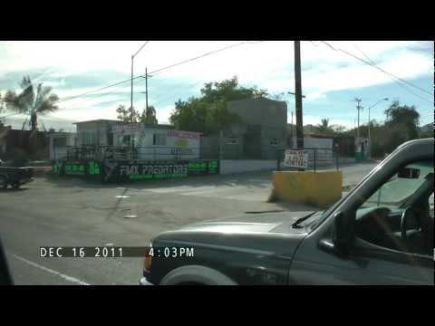 taxi ride south Mexico 1 San Jose Del Cabo, Mexico in HD (Panasonic TM900).wmv