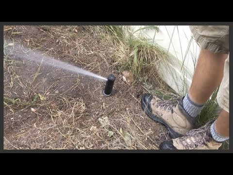 How to add in a lawn sprinkler zone