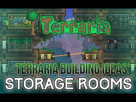 Terraria Building Ideas: Storage Room