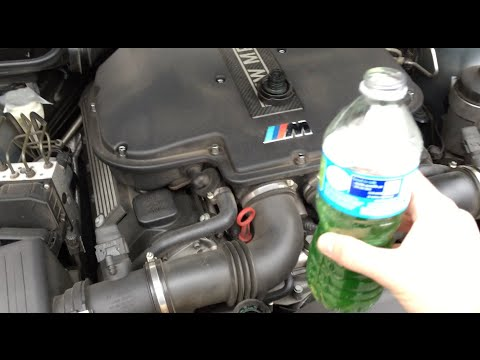 How to Add Coolant To Your E39 BMW M5 (Check Coolant Level Warning / Top Off)