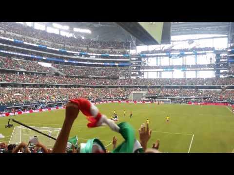 Mexico vs Ecuador Golazo de Chapo montes,AT&T Stadium  Dallas TX