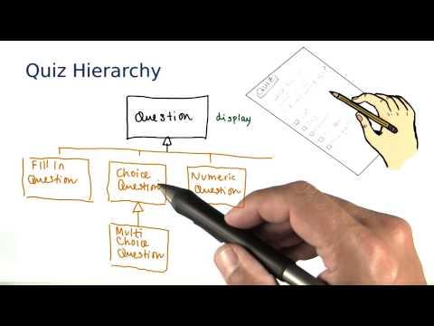 The Quiz Hierarchy - Intro to Java Programming